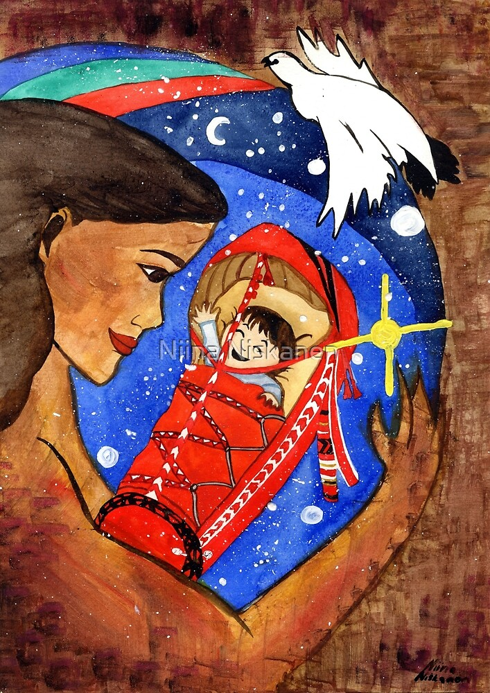 Sárahkká Goddess of Birth  by Niina  Niskanen