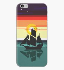 The Black Vector | Pirate Ship iPhone Case
