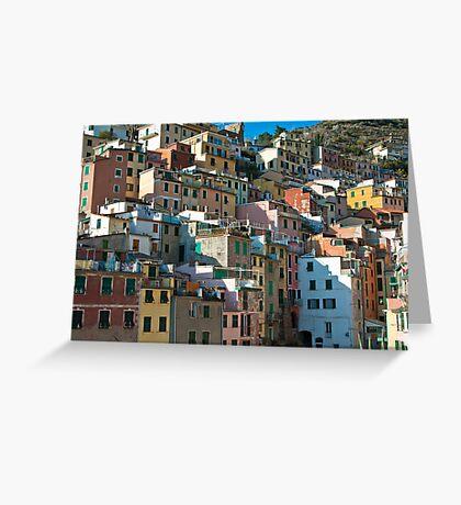 Rio Maggiore, Cinque Terre Greeting Card