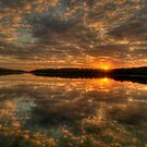 Land Of Reflections - Narrabeen Lakes, Sydney - The HDR Experience by Philip Johnson