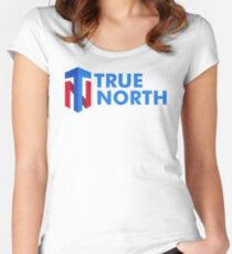 True North Fitted Scoop T-Shirt