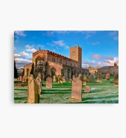 St Oswald's Church - Asgrigg  (HDR) Metal Print