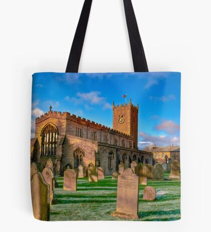 St Oswald's Church - Asgrigg  (HDR) Tote Bag