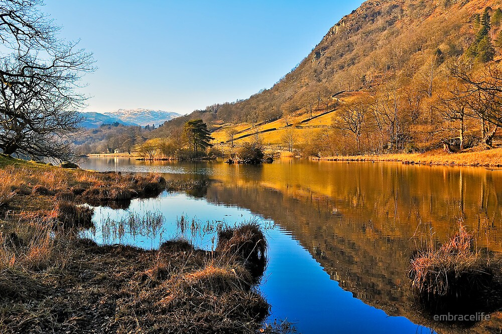 Rydal Water Views by embracelife