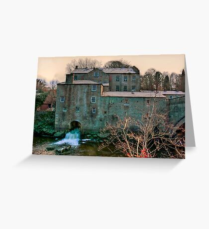 Yore Mill - Aysgarth Yorks Dales Greeting Card