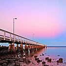 Wellington Point Sunrise by Beth  Wode