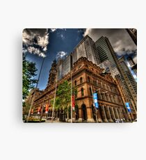 Old & New - GPO Building, Martin Place Sydney - The HDR Experience Canvas Print