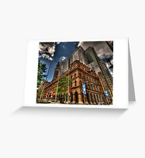 Old & New - GPO Building, Martin Place Sydney - The HDR Experience Greeting Card