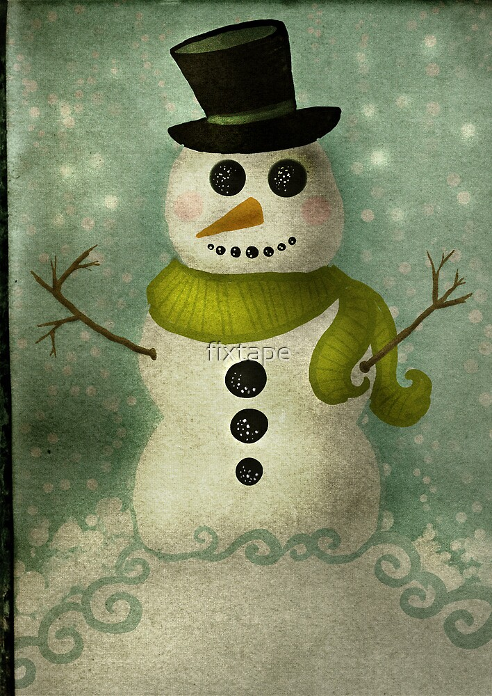 Almost Time for Snowmen by fixtape