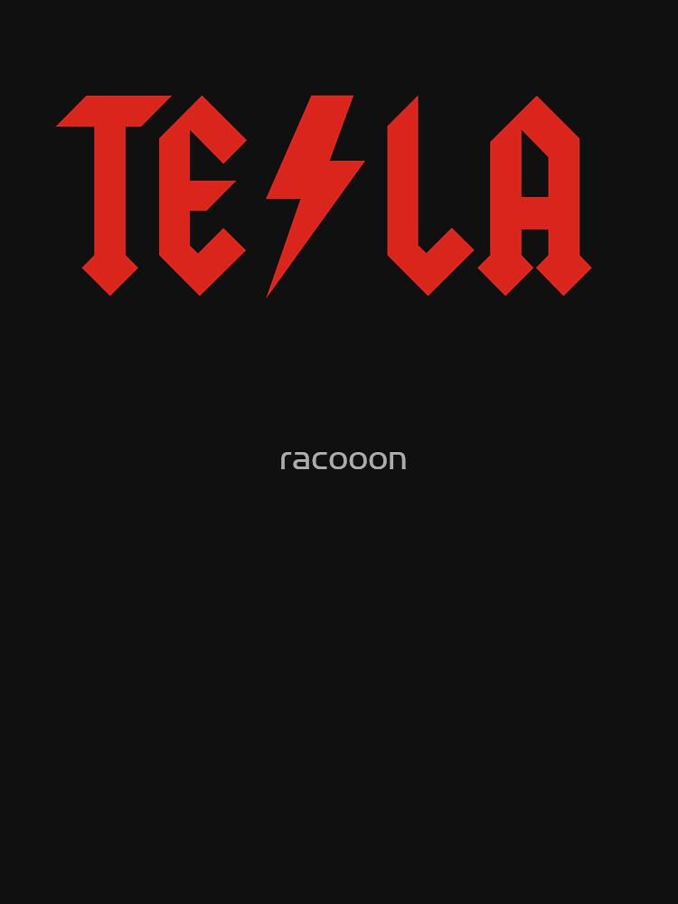 Tesla by racooon
