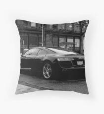 Audi Lines Throw Pillow