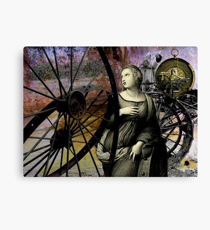 Catherine's wheels Canvas Print
