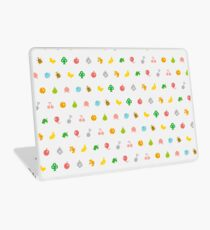 ANIMAL CROSSING HHD PATTERN Laptop Skin
