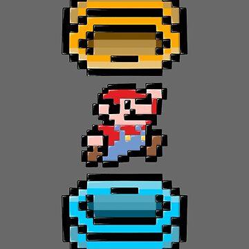 Super Mario Portal by crabro