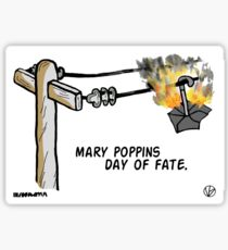 Mary Poppins Day of Fate. Sticker