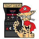 TechTigers logo for the 2017-2018 Season by sapostrophebach