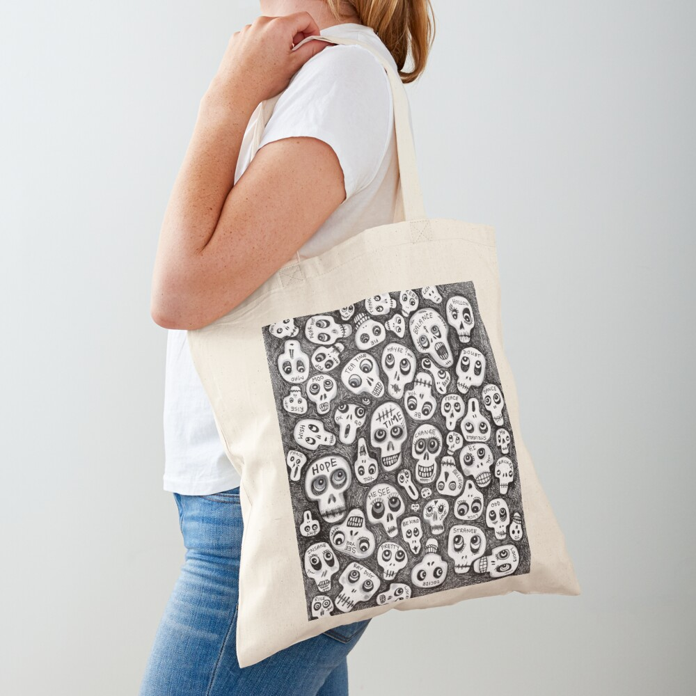 The Skull People Tote Bag