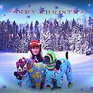 A happy christmas greeting from Triple Trouble by Tarolino