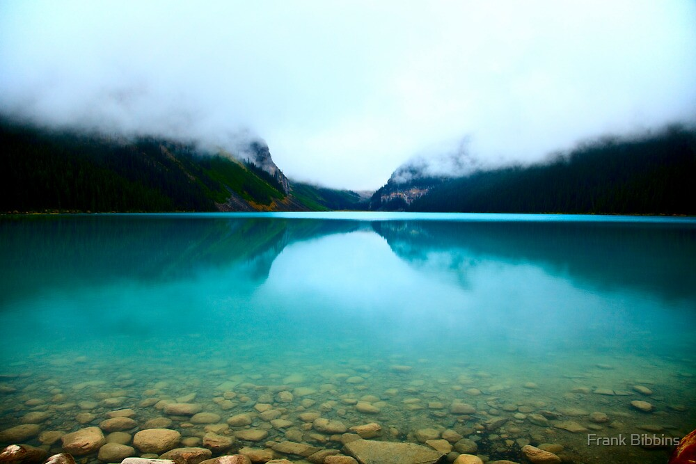 Clouds Lake Louise by Frank Bibbins