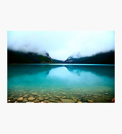 Clouds Lake Louise Photographic Print