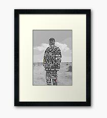 Jesse Pinkman Quotes Framed Print