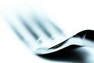A fork fading... by Bob Daalder