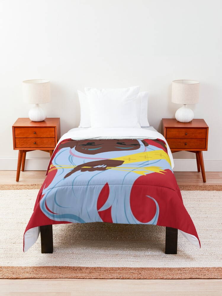 Alternate view of Cupid's Arrow Design Comforter