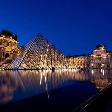 Night Louvre by ChrisSinn