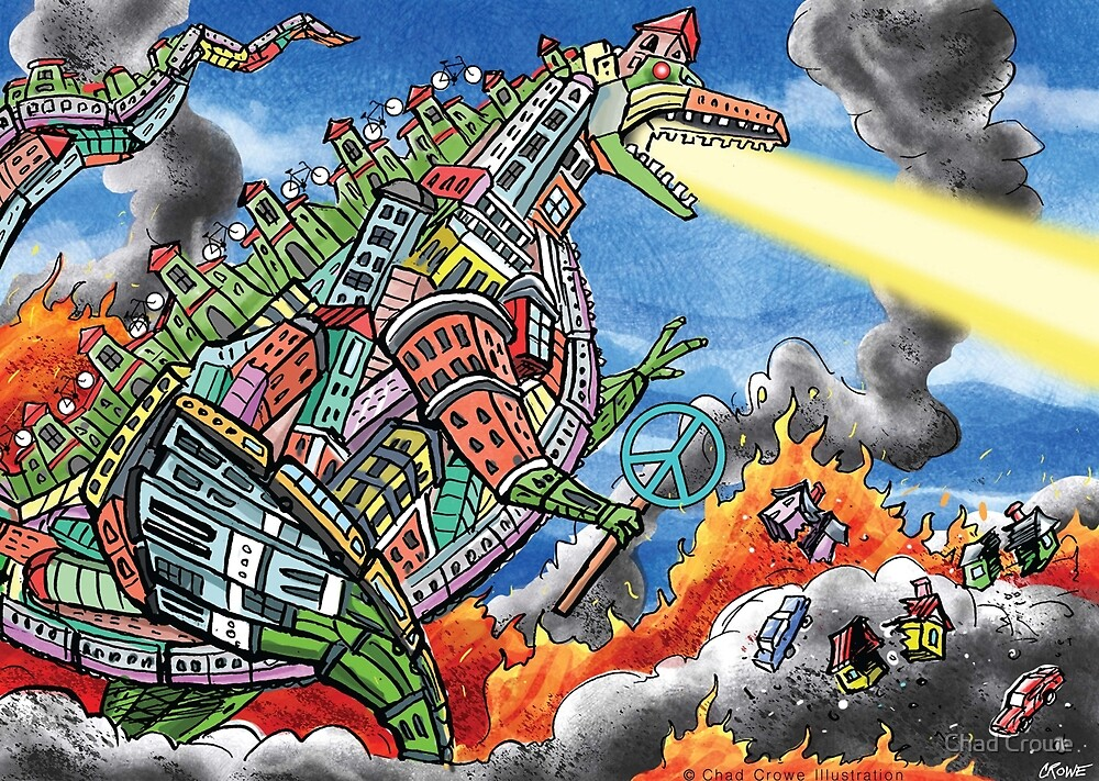 Urban Zilla by Chad Crowe