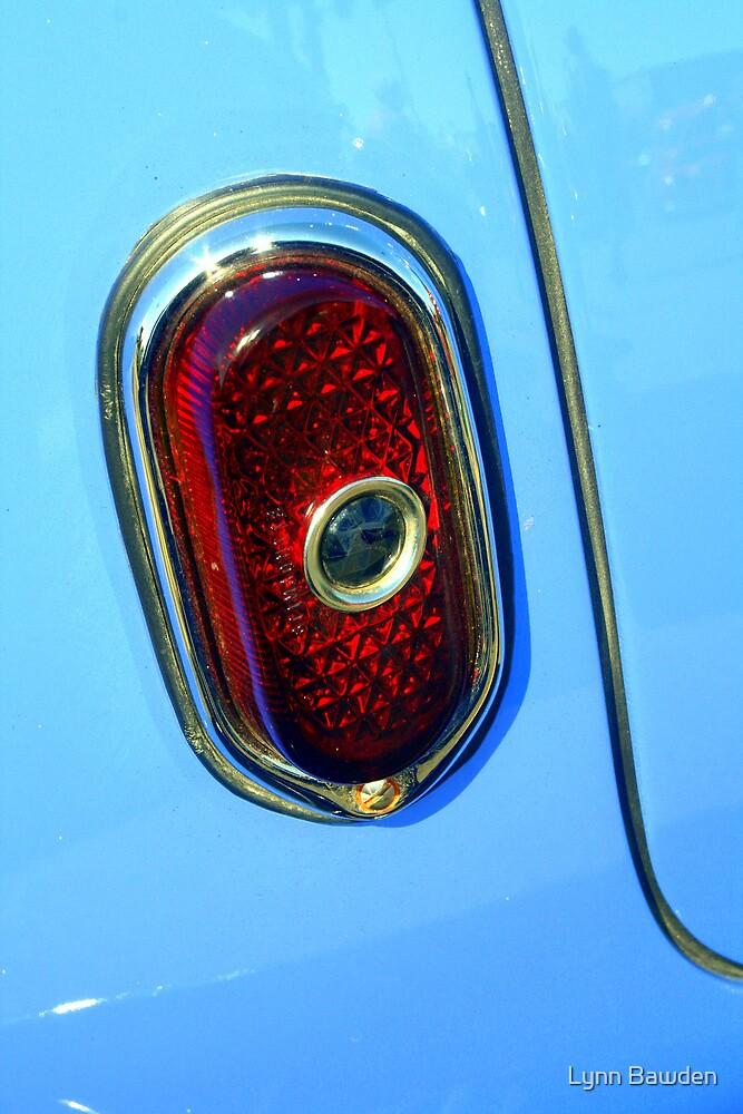 """""""Blue Dot Tail Light"""" by Lynn Bawden"""