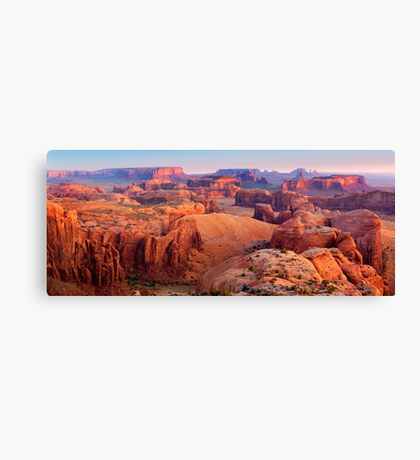 Hunt's Mesa Canvas Print