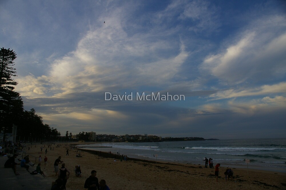 Last Light At The World's Most Famous Beach by David McMahon