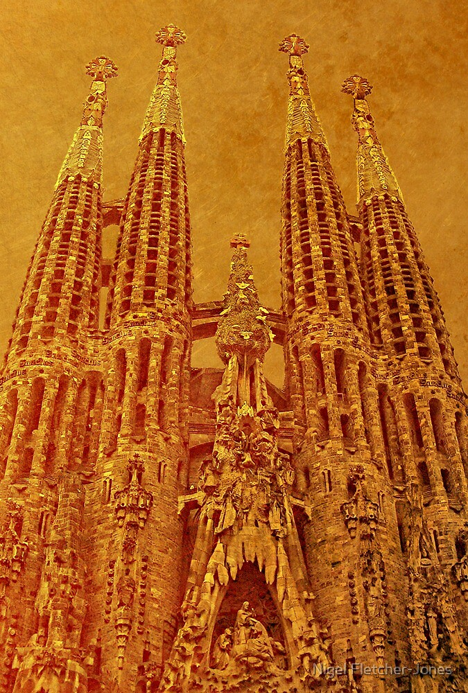 La Sagrada Familia by Nigel Fletcher-Jones