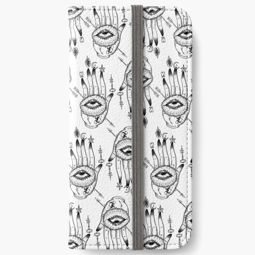 Hand of Mysteries  iPhone Wallet