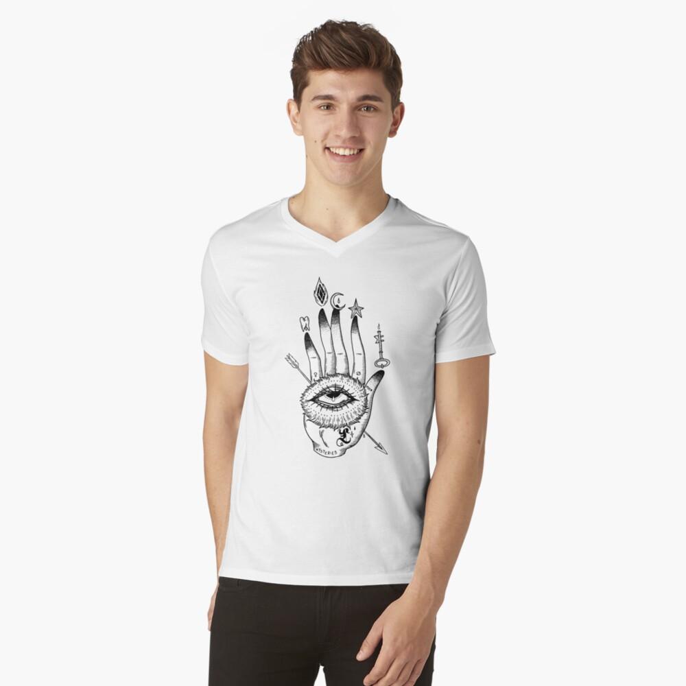 Hand of Mysteries  V-Neck T-Shirt