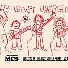 Velvet Underground & MC5 Boston Tea Party Poster by RatRock