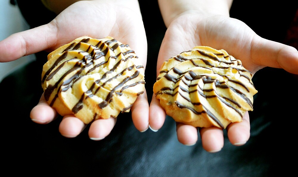 A Balanced Diet is...A Cookie in Each Hand! by Carol Clifford