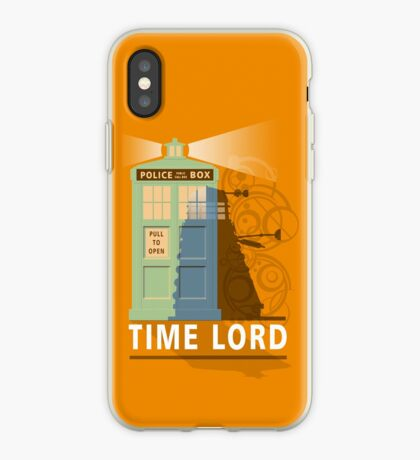 Time lord iPhone Case