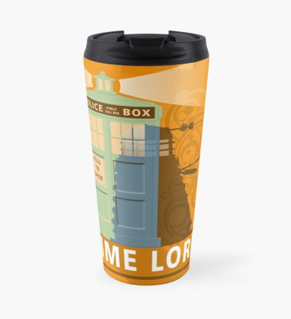 Time lord Travel Mug