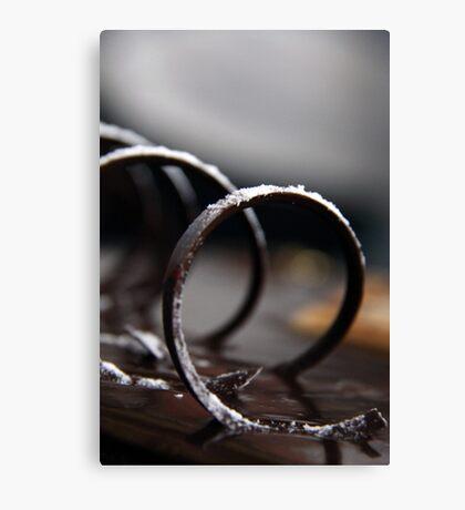 Chocolate Swirl Canvas Print