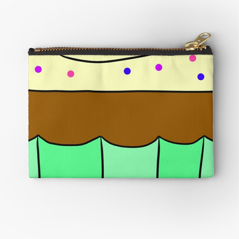 Sweet Cupcake Zipper Pouch