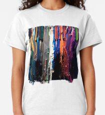 Creepy Crayon Melt Classic T-Shirt