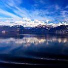 Leaving Glacier Bay by Frank Bibbins