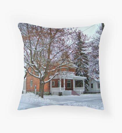 Montana Wonderland Throw Pillow