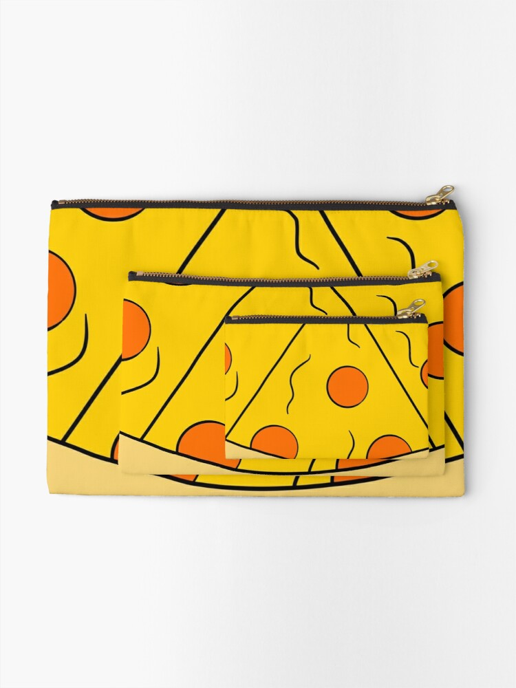 Alternate view of Always Have Pizza On You Zipper Pouch