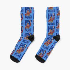 Hup The paladin Blue Socks