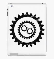 Gear-Engineer-Black iPad Case/Skin