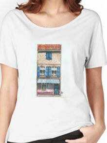 Pink House in Arles Women's Relaxed Fit T-Shirt