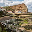 Staithes North Yorkshire by RamblingTog