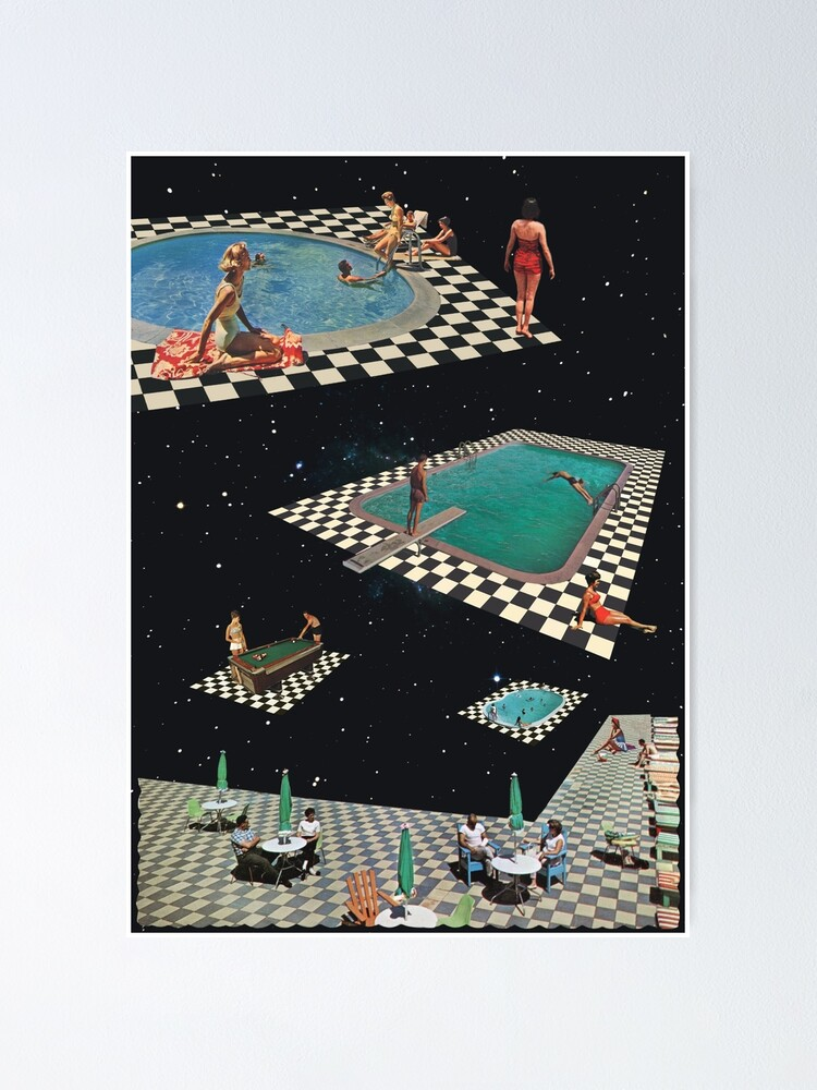 Alternate view of Space Pools Poster